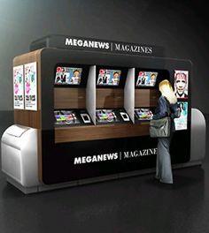 newspaper machine