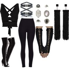 Isabelle Lightwood Demon Hunting Outfit by shadowhunter4life on Polyvore…