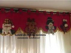 Resultado de imagen para juegos de baño de navidad Valance Curtains, Ideas Para, Christmas Decorations, Diy Crafts, Google, Home Decor, Diana, Sew, Beautiful