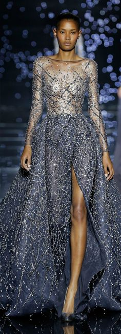 Zuhair Murad Fall Couture by rosalind Style Haute Couture, Couture Fashion, Runway Fashion, Fashion Show, High Fashion, Beautiful Gowns, Beautiful Outfits, Elegant Dresses, Pretty Dresses