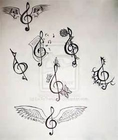 Tattoos  Treble Clef Tattoo