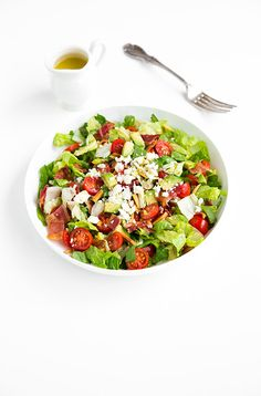 BLT Chopped Salad with Lemon Vinaigrette