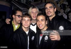 AJ McLean Nick Carter Brian Littrell Howie Dorough and Kevin Richardson of the Backstreet Boys