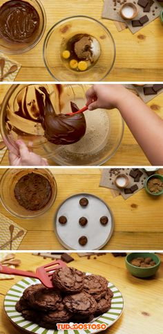 Receita completa de Cookie de Brownie