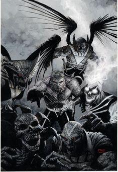 Comic Book Artists, Comic Books Art, Comic Art, Comic Movies, David Finch, Black Lantern, Hawkgirl, New Avengers, American Comics