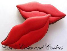lip cookies