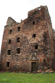 Redhouse Castle in Aberlady, East Lothian, Scotland   Scottish castles