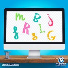 La Vaquita Manchas les tiene esta pregunta: De las siguientes letras hay una que no corresponde. ¿Puedes identificar cuál es? Comenta la respuesta. #AlpuraMeGusta