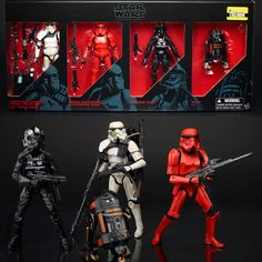 "Star Wars Collector - Entertainment Earth - Exclusive Black Series 6"" 4-Pack Preorder"