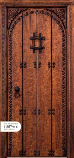 Ventanas para arcos arco de aluminio de la puerta - Puertas rusticas alpujarrenas ...