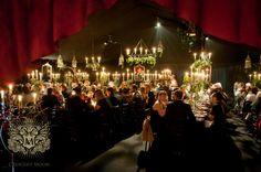 A Gothic Winter Wedding