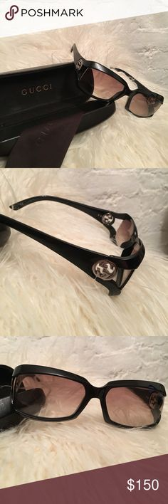 Gucci sunglasses 2599/s Cool Gucci sunglasses with case. Style 2599/s. Glasses in great condition. Original case with general wear and some scratches. Gucci Accessories Sunglasses