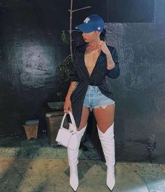 Boujee Outfits, Cute Swag Outfits, Dope Outfits, Stylish Outfits, Fashion Outfits, Womens Fashion, Dressy Outfits, Black Girl Fashion, Fashion Looks