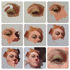 Process Alla Prima demo for my Wednesday night class at Sadie Valeri atelier   http://www.feliciaforte.com/