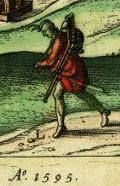 Hajduk, rok 1595 r.  Znalazł niezastąpionyTomasz Rejf. American Revolution, 16th Century, Hungary, Men's Clothing, Soldiers, Warriors, Army, Europe, Polish