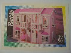 "Barbie Trading Card 1990 ""Barbie Magical Mansion"""