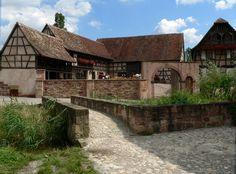 Alsace, écomusée de Mulhouse