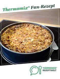 Käsekuchen mit knusprigem Mandelkrokant von Mirzl. Ein Thermomix ® Rezept aus der Kategorie Backen süß auf www.rezeptwelt.de, der Thermomix ® Community.