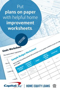 Unsure of where to start? Our planning guide and customizable worksheets will walk you through your next home renovation.