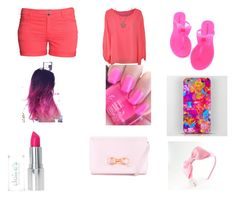 """All pink fell like a real girl"" by oliviafreemanxx123 on Polyvore"