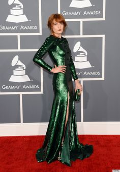 Florence's Givenchy Grammys dress 2013    #flostyle #florencewelch #florenceandthemachine