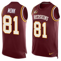 ff9063b54 ... Vapor Untouchable Limited Jersey. See more. Men s Nike Washington  Redskins  81 Art Monk Limited Red Player Name   Number Tank Top
