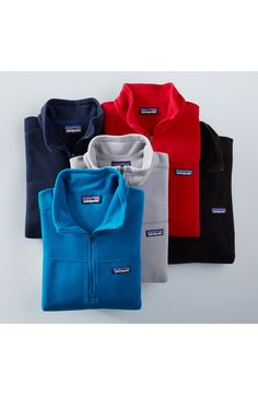 MICRO D QUARTER ZIP FRONT PULLOVER by Patagonia