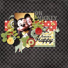 Oh Mickey | Dagi's Temp-tations: Lime Spritzer; Ooh La La Scraps: You Make Me Happy