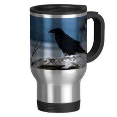 Raven Reflection collection Mugs