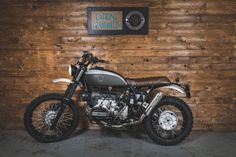 BMW R100 GS Scrambler by Officine Sbrannetti #motorcycles #scrambler #motos | caferacerpasion.com
