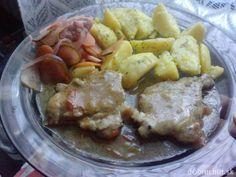 FOTORECEPT: Bravčová krkovička vo vlastnej šťave   Dobruchut.sk Meat, Chicken, Food, Beef, Meal, Essen, Hoods, Meals, Eten