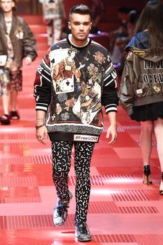 Dolce & Gabbana Spring 2018 Menswear Collection Photos - Vogue