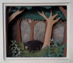 Hey, I found this really awesome Etsy listing at https://www.etsy.com/listing/162828409/black-bear-forest
