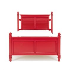 Oddly in love with this red furniture line