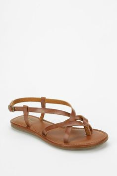 MIA Cruise Strappy Slingback Sandal #urbanoutfitters