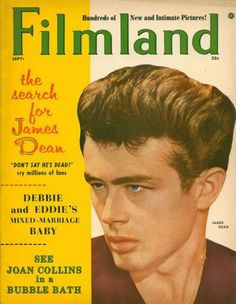 James dean magazine cover Sept. 1956 Filmland 1956 (James Dean's Death./ 1 year later)