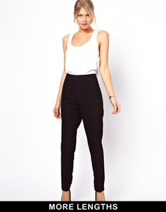 ASOS – Hose mit hoher Taille