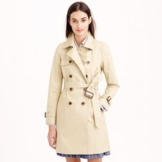 Collection icon trench coat : cotton | J.Crew