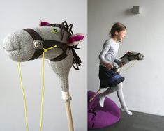 stick horse by Horse Party, Cowgirl Party, Horse Costumes, Diy Costumes, Craft Projects, Sewing Projects, Stick Horses, Sewing Crafts, Diy Crafts