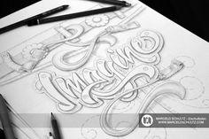 Cover designs - Cuadernos Quick | #graphics #illustration #picture #handdrawn #pencil