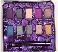 Urban Decay Mariposa Eyeshadow Palette-good combo of fun colors and neutrals