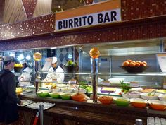 Carnival Dream | 1870: Carnival Dream, Transatlantic Cruise, Burrito Bar