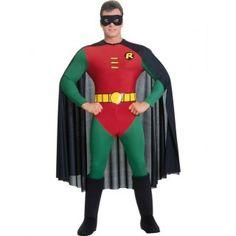 Robin Superheld Man Kostuum