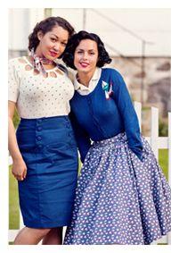vintage inspired knitwear