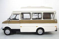 The English Bedford Dormobile Landcruiser, circa 1969