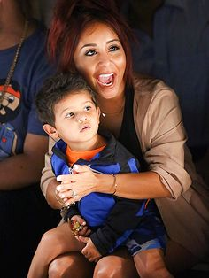 "Star Tracks: Friday, September 11, 2015 | FRONT ROW FAMILY | Also letting her kid in on the Fashion Week fun: Nicole ""Snooki"" Polizzi, who brings 3-year-old son Lorenzo to the Kids Rock! Show on Thursday."