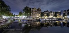 AMSTERDAM - Pinned by Mak Khalaf City and Architecture AmsterdamHolandaarchitecturebridgecitycityscapecloudseuropelightlightslong exposurenightriverskysmdstreettravelurbanwater by Lluisdeharo