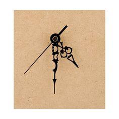 Clock Parts - Metal Filigree Clock Hands #3 < Shop   Cuddly Buddly Crafts