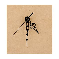 Clock Parts - Metal Filigree Clock Hands #3 < Shop | Cuddly Buddly Crafts
