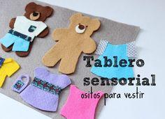 Tablero sensorial: osos para vestir   Blog de BabyCenter